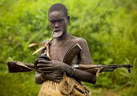 why the mursi women have a lip plate