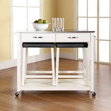 Crosley Furniture Kitchen Cart Rolling Folding Table Images 2x4 Table Plans Moreover Day 29