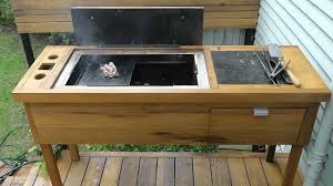 homemade bbq build diy wood charcoal barbecue part 1 firebox and frame you