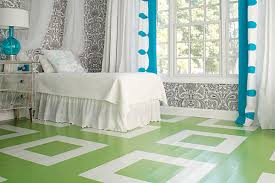 bedroom floor design. View In Gallery Modern Bedroom Floor With Squares Design F