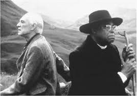 summary of book ii cry the beloved country james jarvis richard harris sitting next to stephen kumalo james earl jones in the miramax production of cry the beloved country