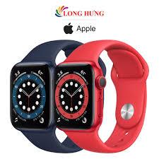 Mã ELMALL1TR5 giảm 6% đơn 3TR] Đồng hồ thông minh Apple Watch Series 6 GPS  Aluminum Case Sport Band - Hàng chính hãng - Đồng hồ thông minh