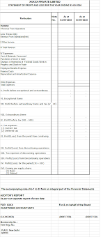 Format Balance Sheet Compulsory Requirement Of Schedule III Balance Sheet Companies Act 9