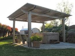 free standing patio cover designs diy