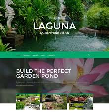40 Best Exterior Design Templates Themes Free Premium Impressive Garden Web Design Design
