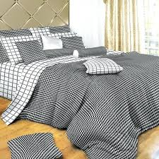 black and white grid duvet cover uk striped king covers south africa check twin set by