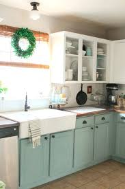 turquoise kitchen cabinets full size of small painted kitchen cabinets 2 years later kitchens chalk small