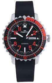 fortis b 42 marinemaster day date gmt automatic steel red mens image is loading fortis b 42 marinemaster day date gmt automatic