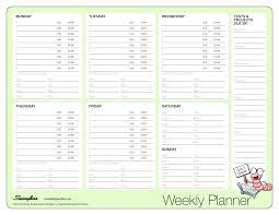Middle School Agenda Template Weekly Planner Printable Homework ...