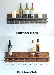 floating wine glass shelves wine rack shelf bar shelf wine glass rack wall by floating shelf