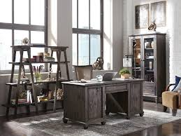 A Rustic European Vibe Present In The Weathered Charcoal Finish And  Continental Inspired Details Adds Appeal And Interest To The Sutton Place  Home Office.