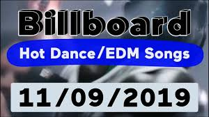 Billboard Top 50 Hot Dance Electronic Edm Songs November 9 2019