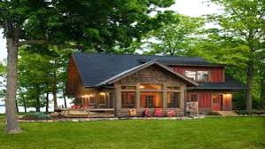 cabin plans with walkout basements lake cabin plans designs weekend simple floor plan house small lakefront