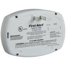 first alert basic plug in carbon monoxide alarm co600
