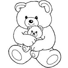Small Picture free cute teddy bear coloring pages Gianfredanet