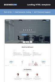 planner page template event planner landing page html5 theme