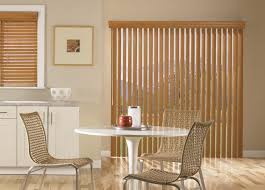 beige vertical blinds for sliding glass doors