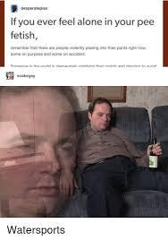 Adult pee pants fetish