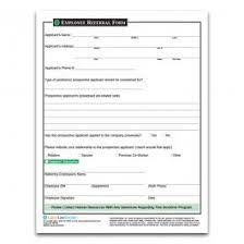 Referral Forms Templates Employee Referral Program Form Rome Fontanacountryinn Com