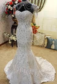 rhinestone wedding dress. 2015 Best Selling With Necklace Swarovski Crystals Appliques