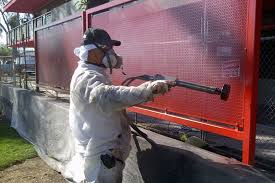 electrostatic painting exterior screen