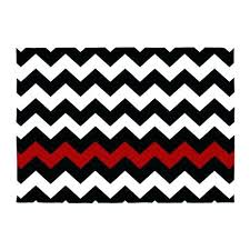 black and white chevron rug red rugs area indoor outdoor target