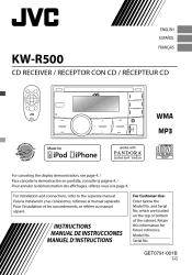 jvc kw r500 manual jvc kw r500 instructions
