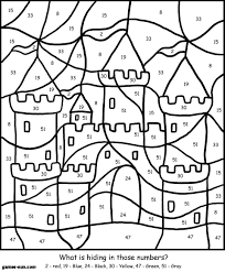 For Adults Printable Color By Number Coloring Pages Online