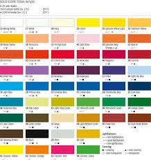 Ceramcoat Color Chart Apple Barrel Acrylic Paint Color Chart Www