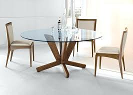 round glass top dining set glass top dining table placed gorgeous room with grey modern round