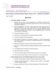 Interior Designract Templates Best Tavernierspa Template Agreement