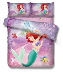 ariel mermaid princess bedding sets