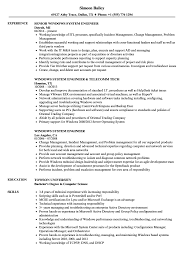 System Engineer Resume Windows System Engineer Resume Samples Velvet Jobs 14