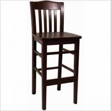 Wood high back bar stools 17