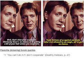 Harry Potter Book Quotes 100 Missing Harry Potter Book Lines That Should Have Been In The 60