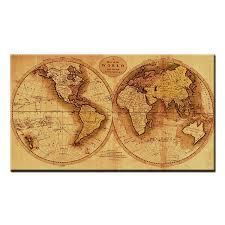 canvas art prints living room yellow world map wall art canvas painting no frame on world map wall art with photo frames with canvas art prints living room yellow world map wall art canvas