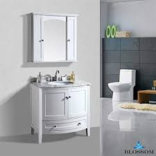 Contemporary bathroom vanities 36 inch Element Image Unavailable Image Not Available For Color Blossom Rome 36 Inch Single Sink Contemporary Bathroom Vanity Amazoncom Blossom Rome 36 Inch Single Sink Contemporary Bathroom Vanity In