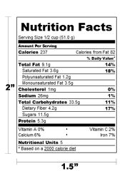 it s important that your food labels are high quality in order to stand out on the shelves and appeal to your customer while listing all the information