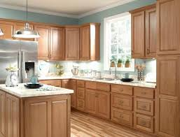 Kitchen wall colors with honey oak cabinets theradmommycom