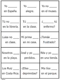 Spanish Verb Ser Conjugation Chart Bedowntowndaytona Com