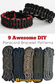 9 awesome paracord bracelet patterns