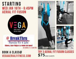 dec 31 aerial fitness fusion wednesday s breakthru family fitness stamford ct patch