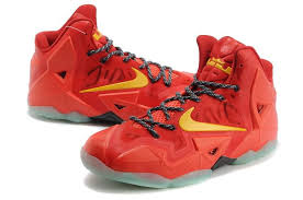 lebron red shoes. nike lebron 11 all red shoes lebron