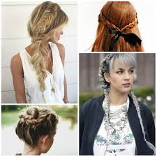 Hair Style Braid casual braided hairstyle ideas haircuts and hairstyles for 2017 8173 by wearticles.com