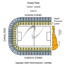Croke Park Tickets And Croke Park Seating Charts 2019