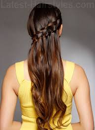 double waterfall braids 24 perfect prom hairstyles makeup tutorials guide