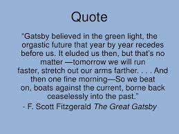 Quotes From The Great Gatsby About The American Dr