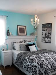 Blue Black And White Room | bedrooms - black, white, blue, bedroom,