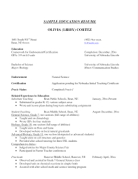 Education On Resume Listing Education On Resume Examples How To Put Education On 50