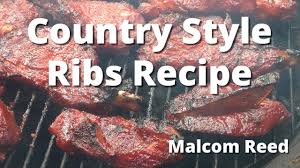 Dry Rub BBQ Country Style Ribs Oven Baked  YouTubePork Shoulder Country Style Ribs Grill